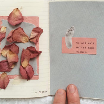 This poet's beautiful Instagram is filled with messages of hope and light, and it's just what we needed