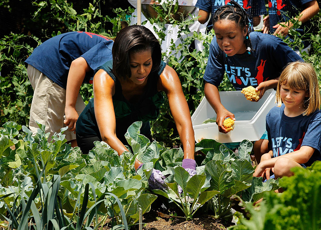 Michelle Obama S Vegetable Garden Won T Disappear After She Leaves The White House
