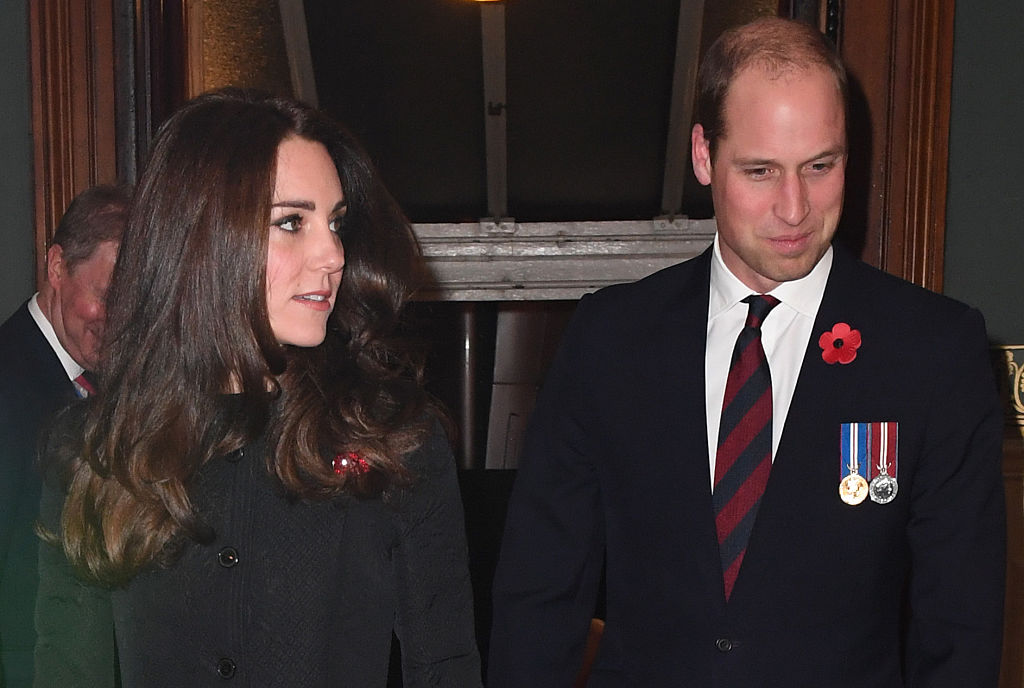 Kate Middleton and Prince William just paid their respects at a Remembrance Day event