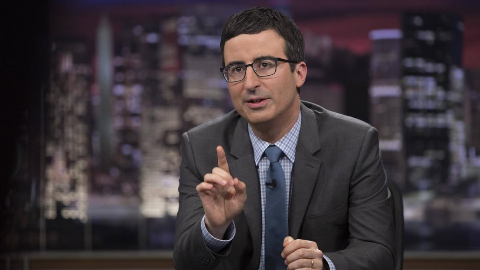 John Oliver's old request about who becomes President is weird to watch