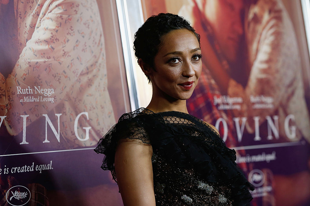 Ruth Negga wore a snake dress on the red carpet and she looks so glamorous