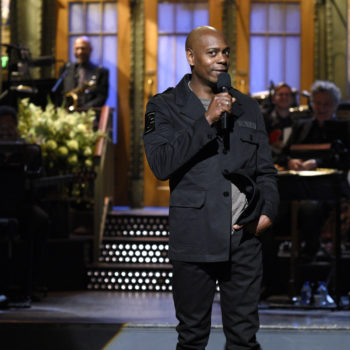 "Dave Chappelle singing ""Creep"" at the 'SNL' after party is the best thing that's happened all week"