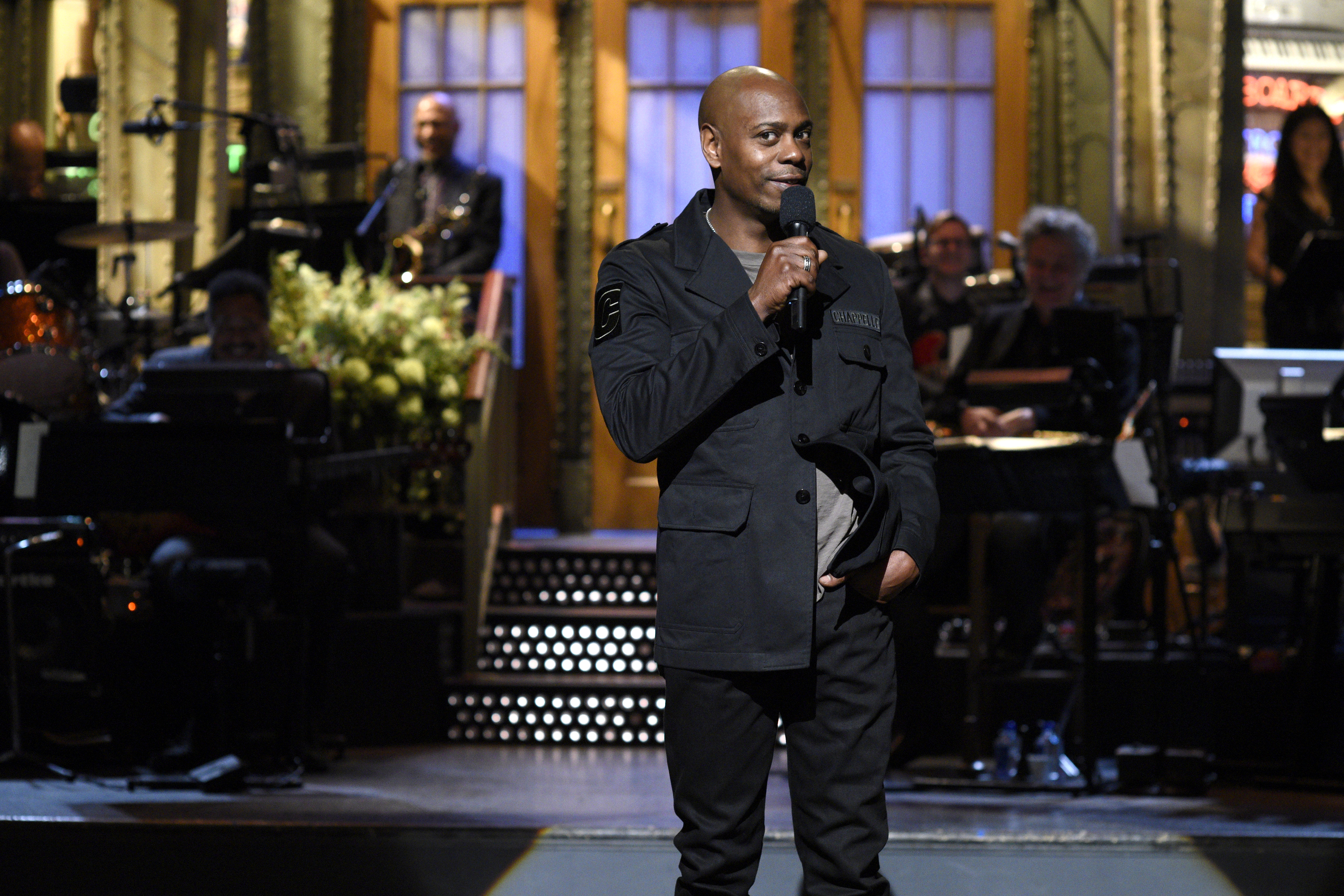"""Dave Chappelle singing """"Creep"""" at the 'SNL' after party is the best thing that's happened all week"""