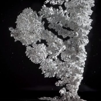 """This time-lapse video of crystals being """"born"""" is spectacular and we can't stop watching it"""