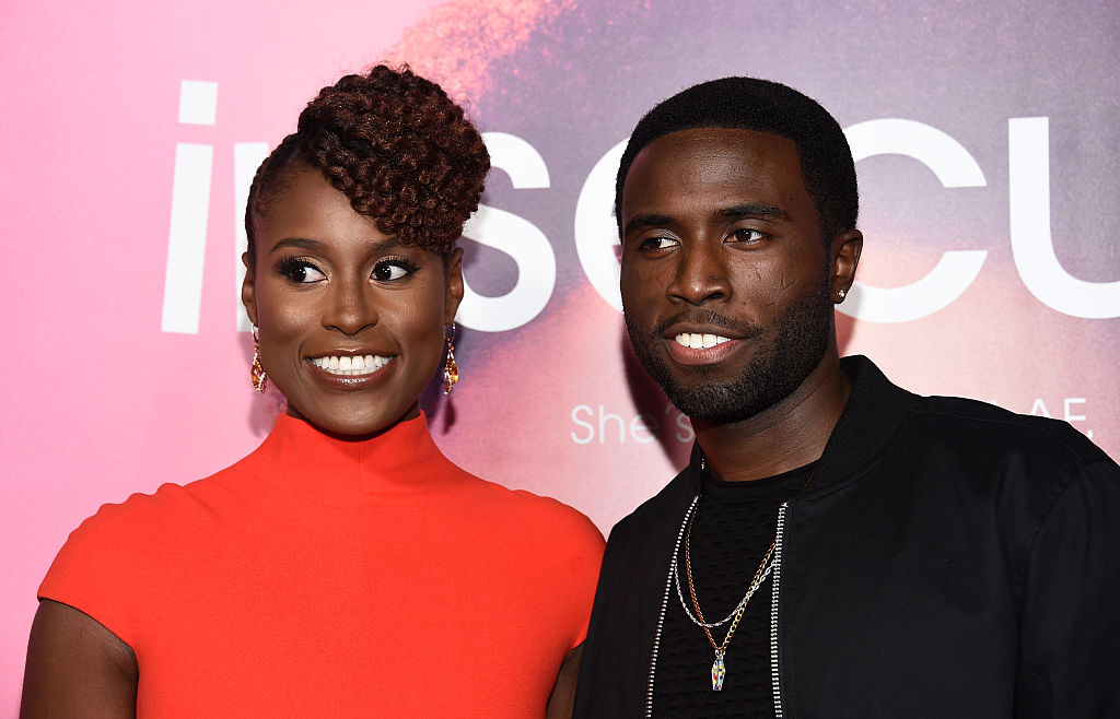 "Issa Rae's ""Insecure"" love interest brought her the most hilarious sex scene icebreaker"
