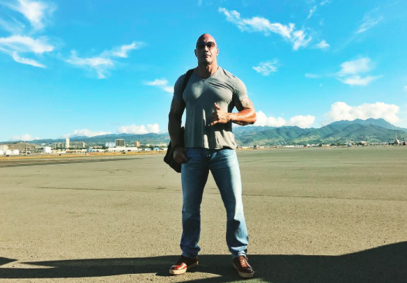 "Dwayne ""The Rock"" Johnson might run for President one day, and yeah, why not"