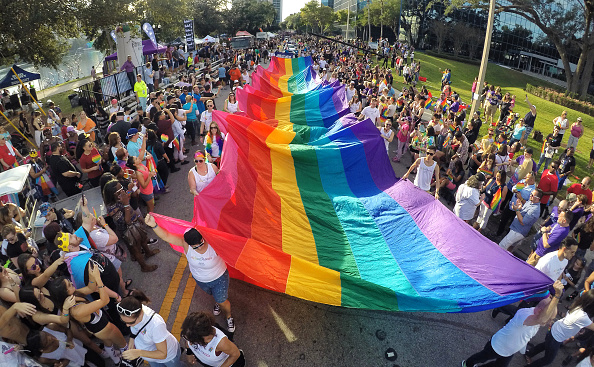 Orlando powerfully celebrated LGBTQ pride five months after the Pulse shooting