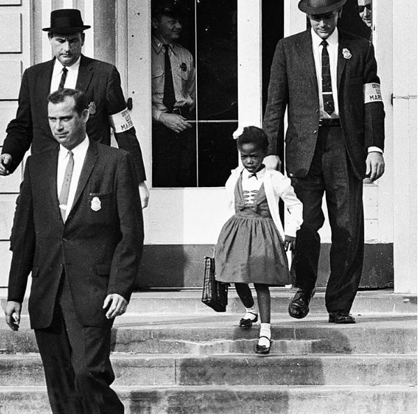 Today is the 56th anniversary of Ruby Bridges' boundary-breaking first day of school