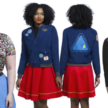 """Be prepared to ~beam up~ this new """"Star Trek"""" collection from ThinkGeek and Her Universe"""