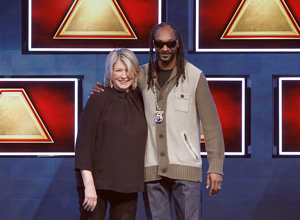 So this is what Snoop Dog smells like (according to Martha Stewart)