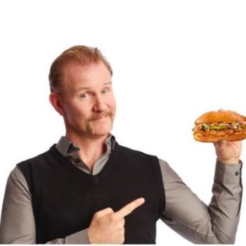"""The guy who made """"Super Size Me"""" is now SELLING fast food, and it's actually for a great cause"""
