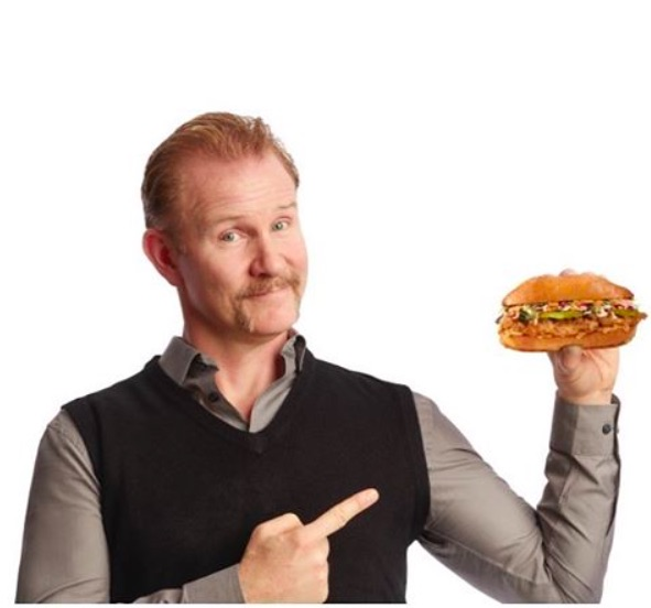"The guy who made ""Super Size Me"" is now SELLING fast food, and it's actually for a great cause"