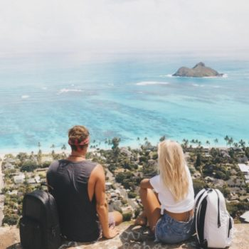Someone recreated these travel bloggers' exact photos, and it's a little creepy but also amazing