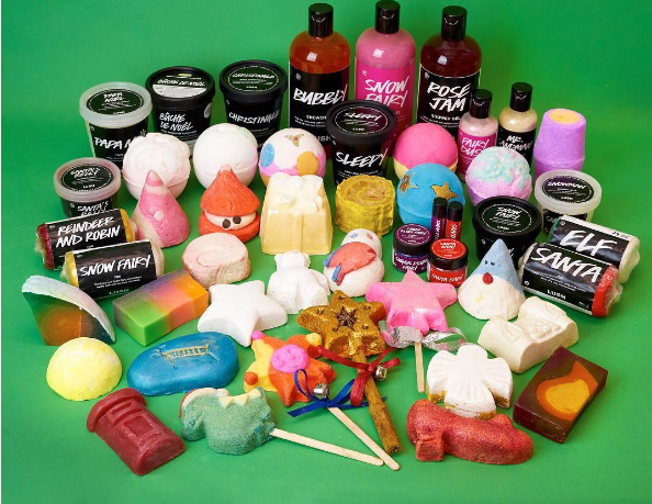 Lush made a big improvement with their 2016 holiday collection and we are giving them major props