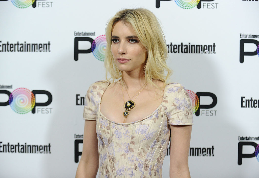 Emma Roberts went casual with her outfit, but still looked like an off-duty princess