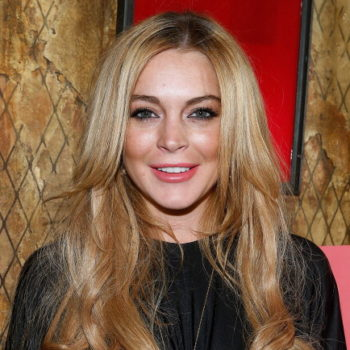 Lindsay Lohan just updated her hair in a major way