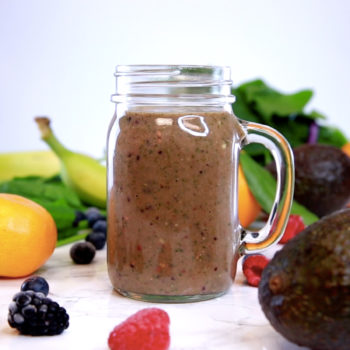 Drop everything and try this delicious hair growth smoothie