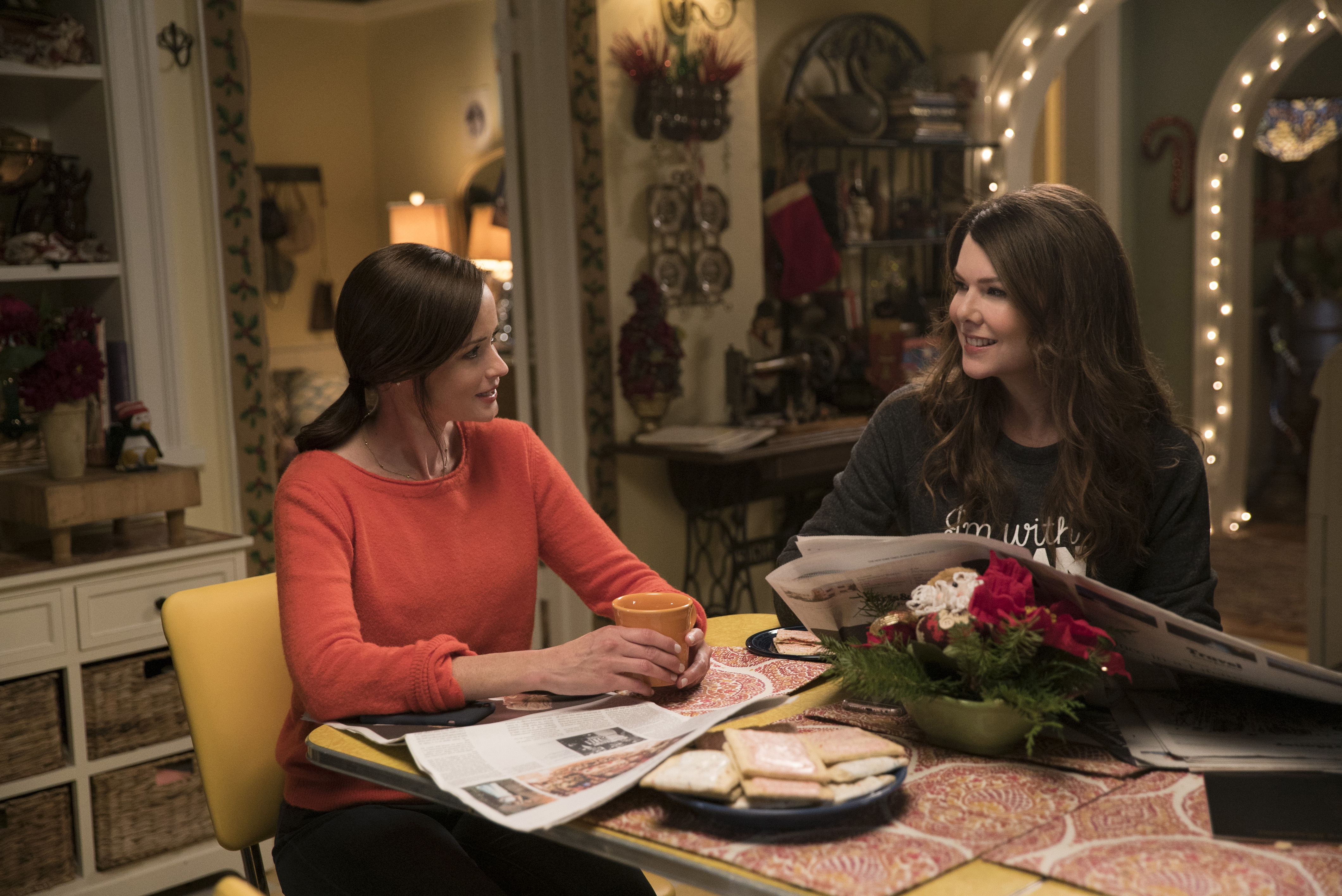 We love these ~Gilmore Girls and Chill~ invites for a perfect Netflix Date Night with mom
