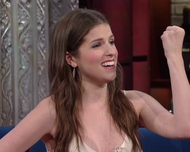 "We're loving Anna Kendrick's rendition of ""I'm Still Here"" on ""Colbert"" last night"
