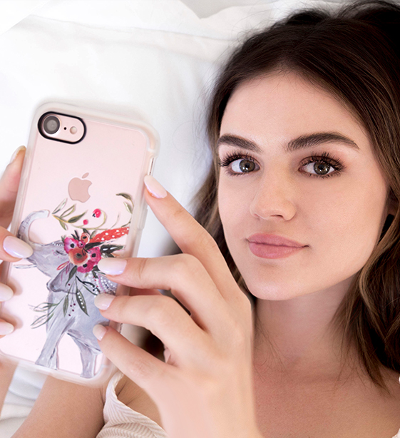 Lucy Hale collaborated on a new line of tech accessories & they're so pretty