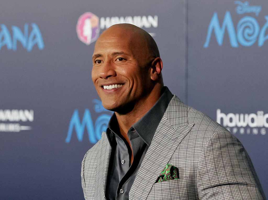 "Dwayne Johnson gushes about his daughter and dog on ""Ellen"" because cuteness"