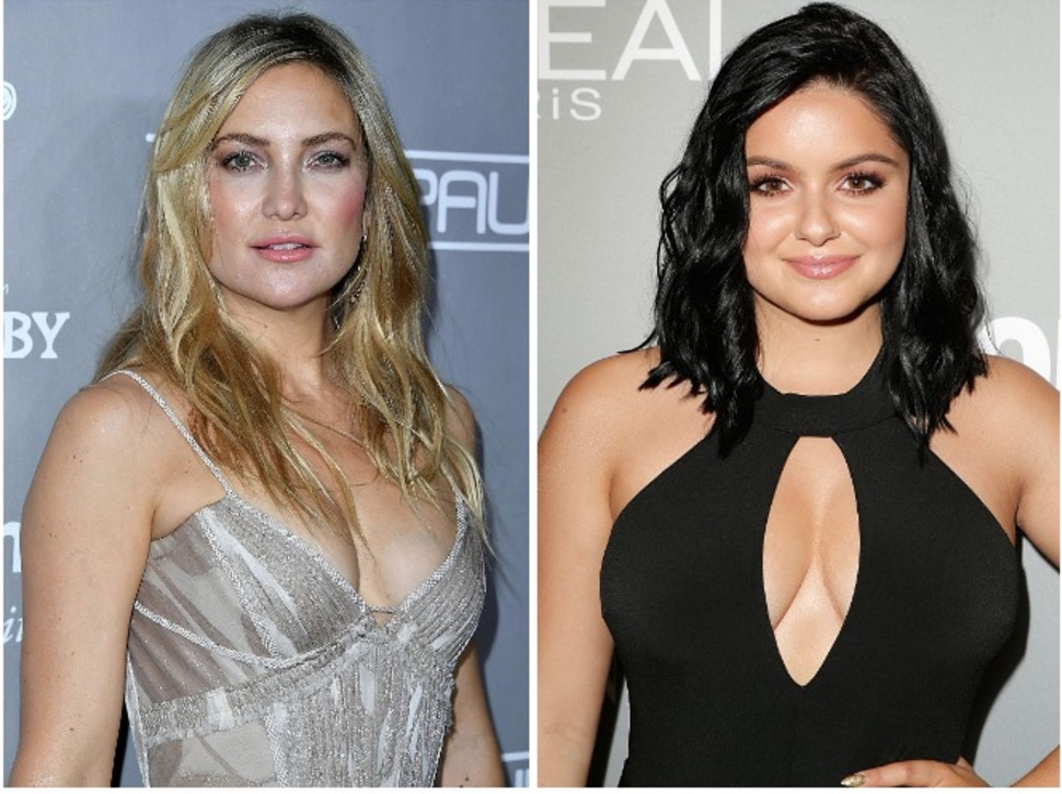 Both Ariel Winter and Kate Hudson rocked pantsuit chic looks so we should all be wearing this now