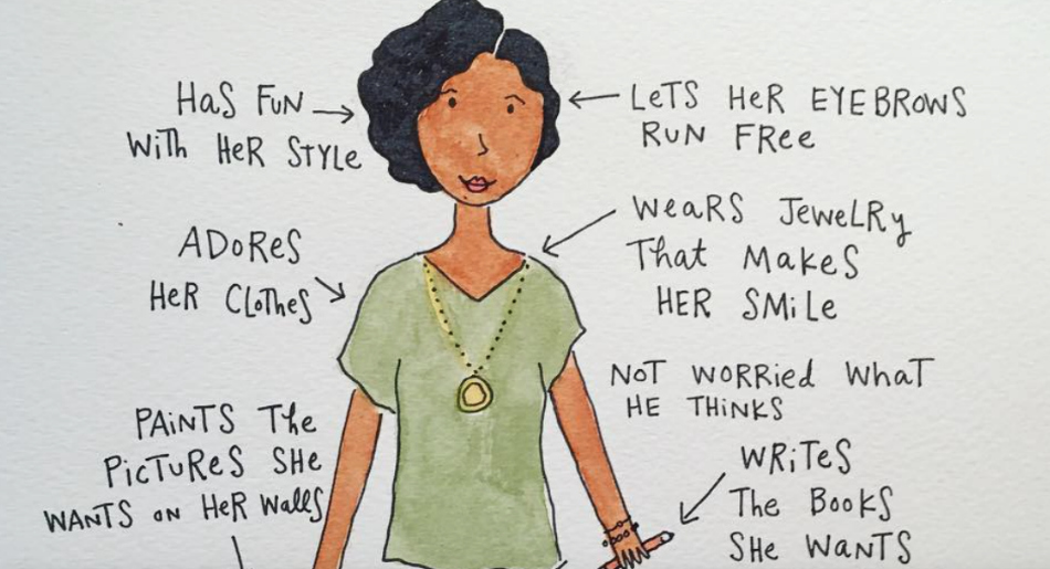 This take on the ~ideal woman~ is so perfectly feminist, and we love it