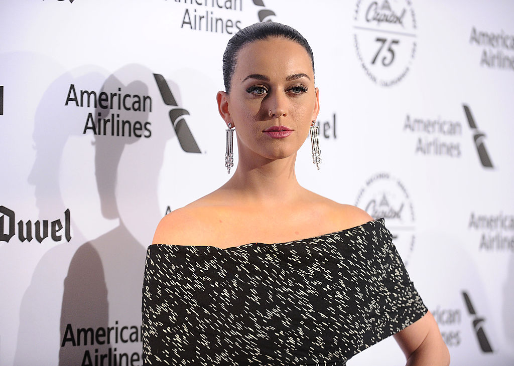 Katy Perry's off-the-shoulder jumpsuit is #goals