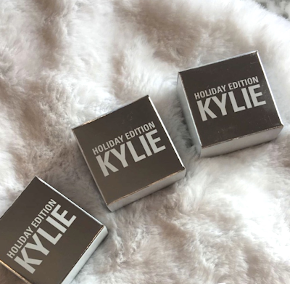 Kylie Jenner reveals her upcoming Kylie Cosmetics holiday collection and we're going crazy