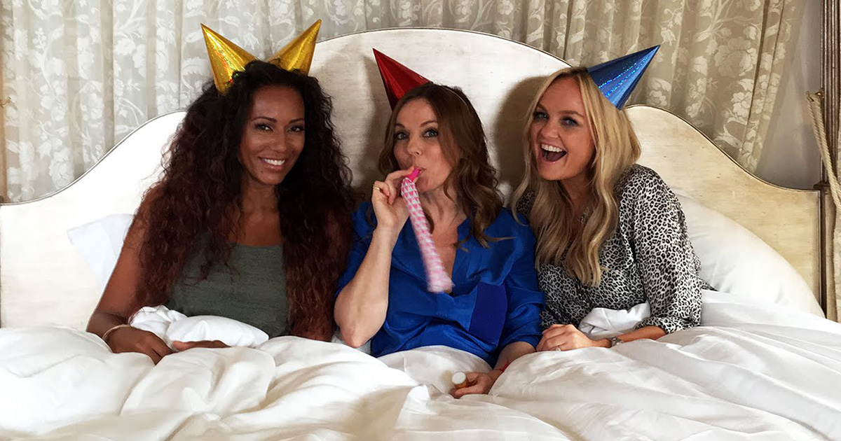 Is this a taster of new music from the reformed Spice Girls?