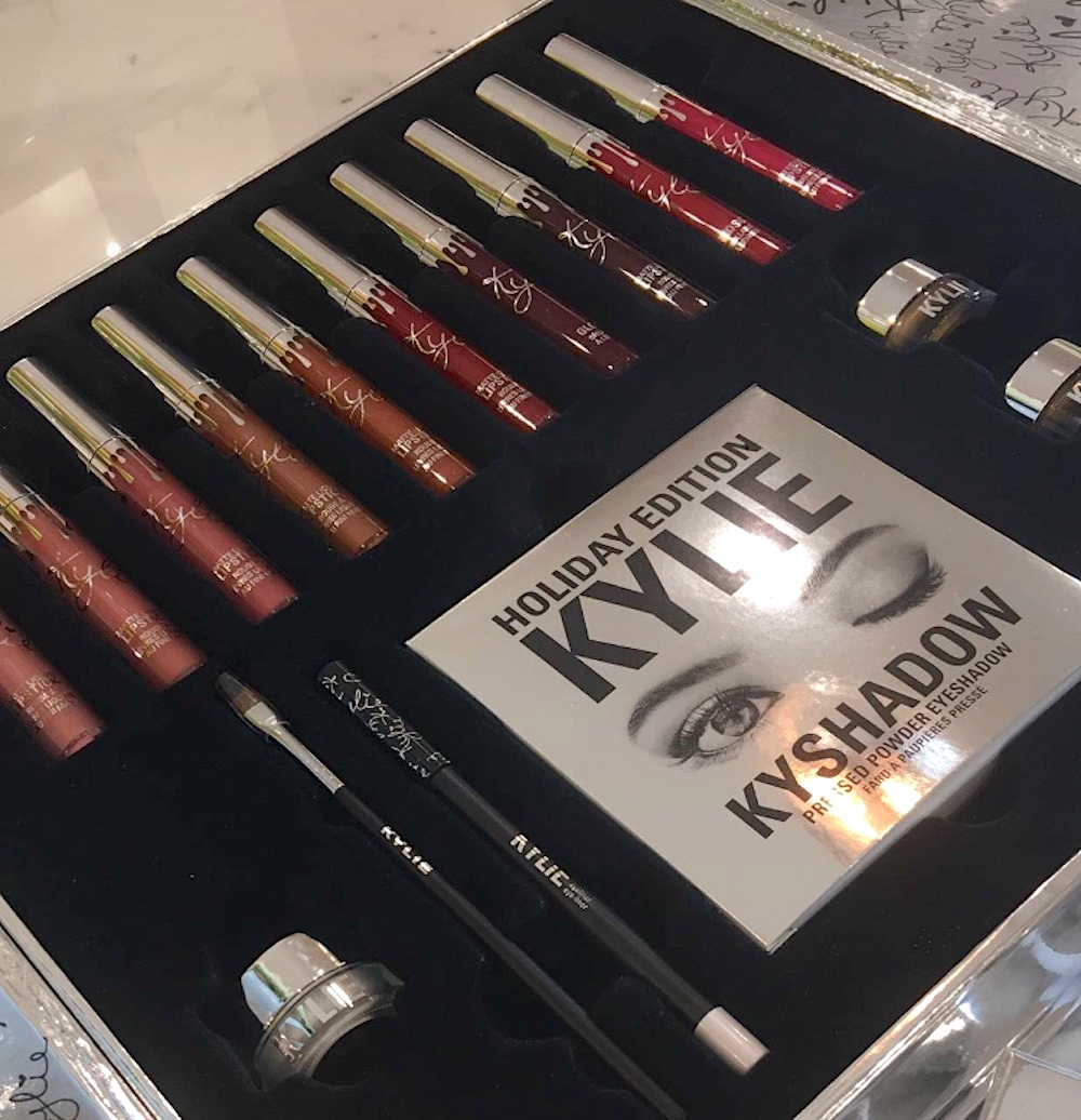 Stop everything: Kylie Cosmetics holiday collection includes their first-ever makeup vault