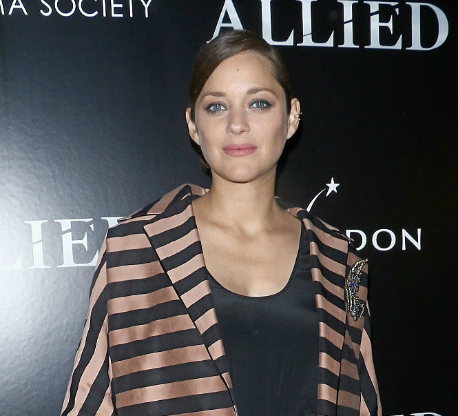 Marion Cotillard opens up about what it was really like to shoot love scenes with Brad Pitt