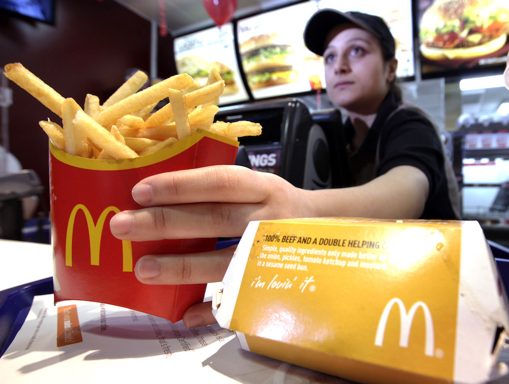 OMG McDonald's is making MAJOR changes including nationwide table service