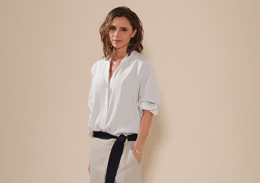 Victoria Beckham used her daughter's drawing for this World AIDS Day shirt, and we think it's gorgeous