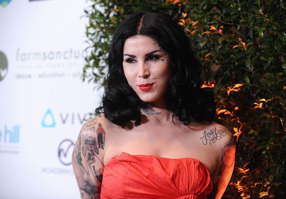Kat Von D teases that she could possibly be designing home decor in the future