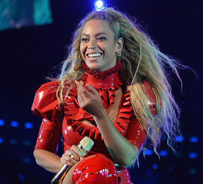 """Beyoncé just dropped new holiday-themed merch because she """"sleighs all day"""""""