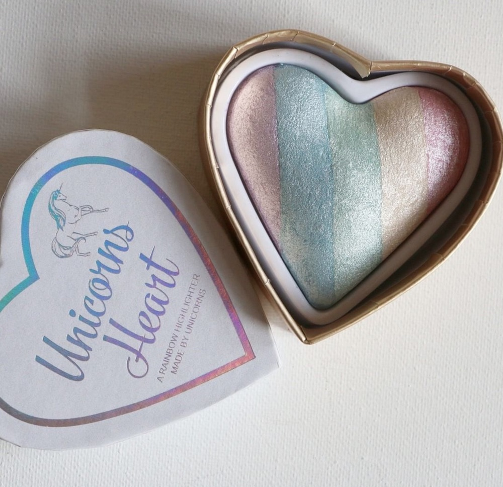 No, we aren't sick of rainbow highlighter, especially when it looks like this