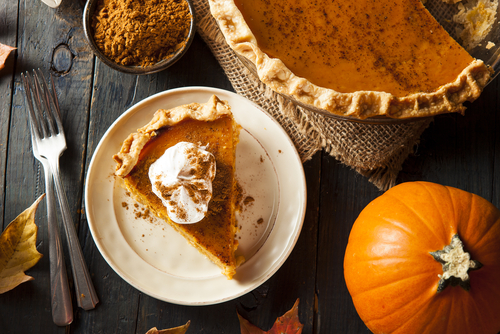 The first Thanksgiving pumpkin pie was quite different from the fall dessert we know and love