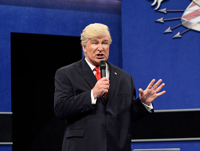 Alec Baldwin will do Trump again on SNL on Saturday and we're not sure what to expect