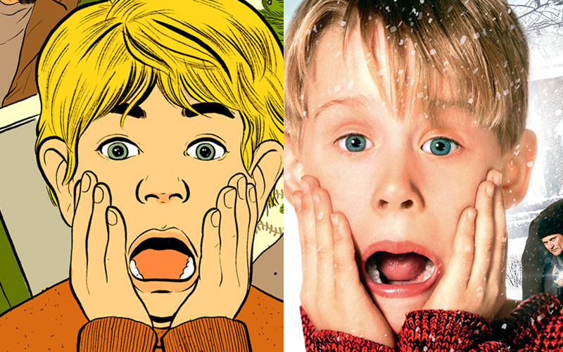 "There's an official ""Home Alone"" coloring book now and it's maybe THE greatest gift of the season"