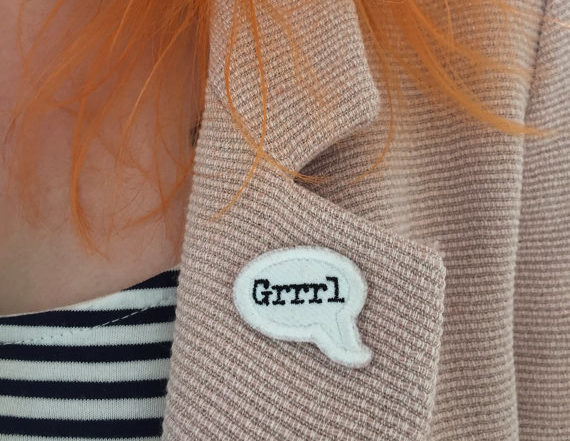 These feminist patches are seriously so edgy, and so beautiful