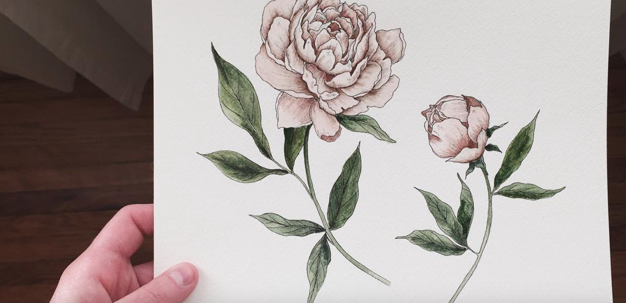 These floral art prints are the cool and classy decor our apartments have been missing