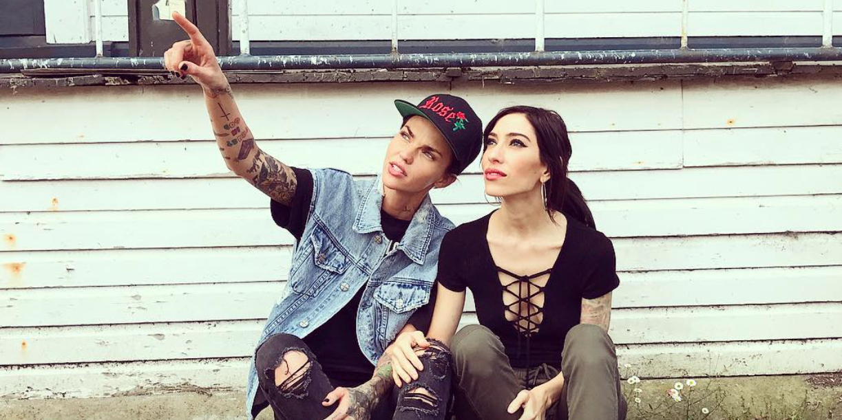 This selfie of Ruby Rose and Jessica Origliasso is giving us all the feels