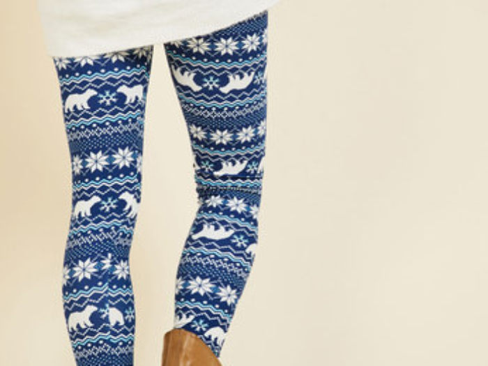 10 winter-inspired leggings we want to snuggle up in for the rest of the season