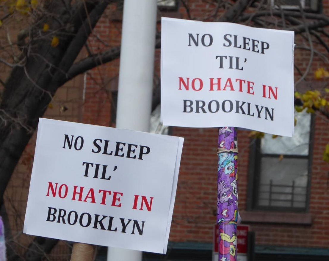 """Adam Yauch Park hosted a """"Stand Up To Hate"""" rally and it's a beautiful thing"""