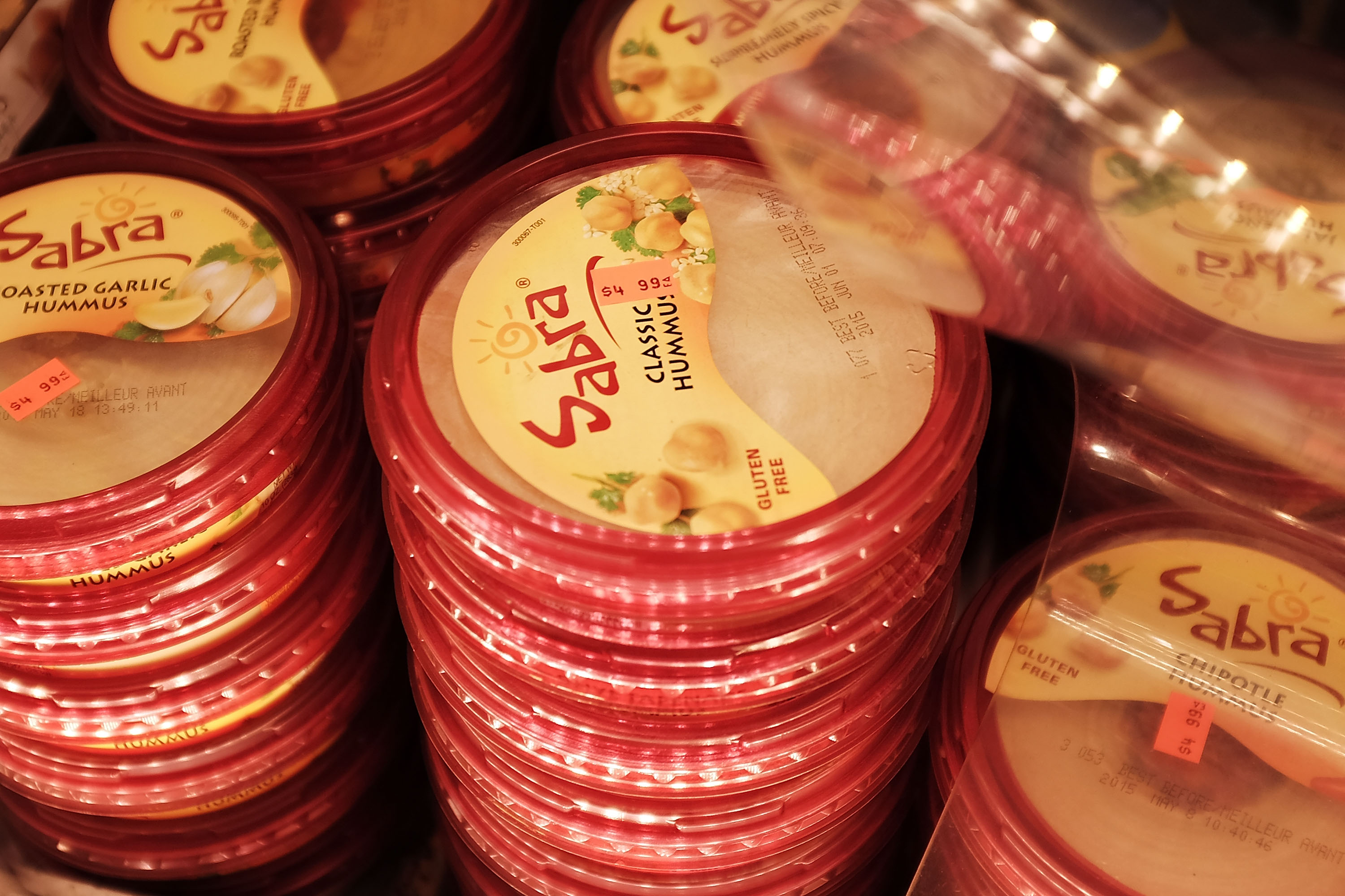 Oh no, Sabra just recalled a bunch of hummus so check your fridge