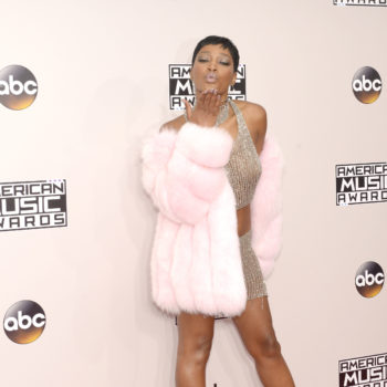 Keke Palmer's AMAs outfit is bold, barely-there & we love it all
