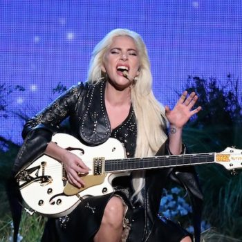 Lady Gaga's AMAs pantsuit was 100% classy country