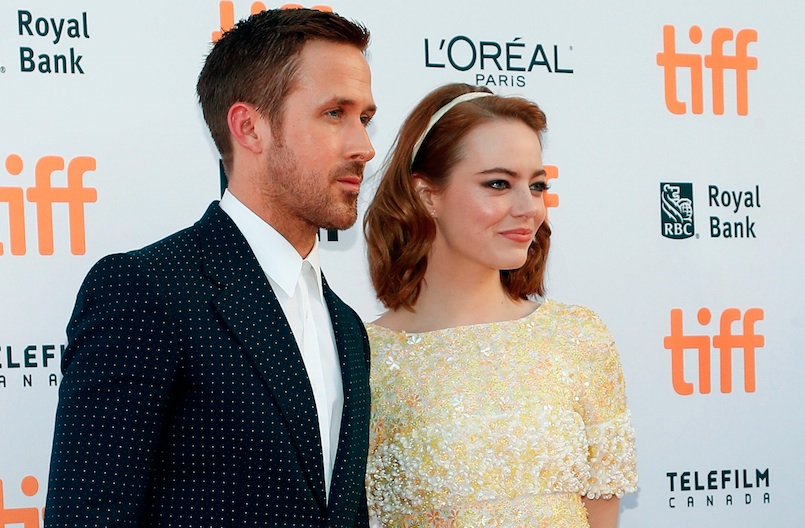 Emma Stone talked about sweating all over Ryan Gosling, and, lol
