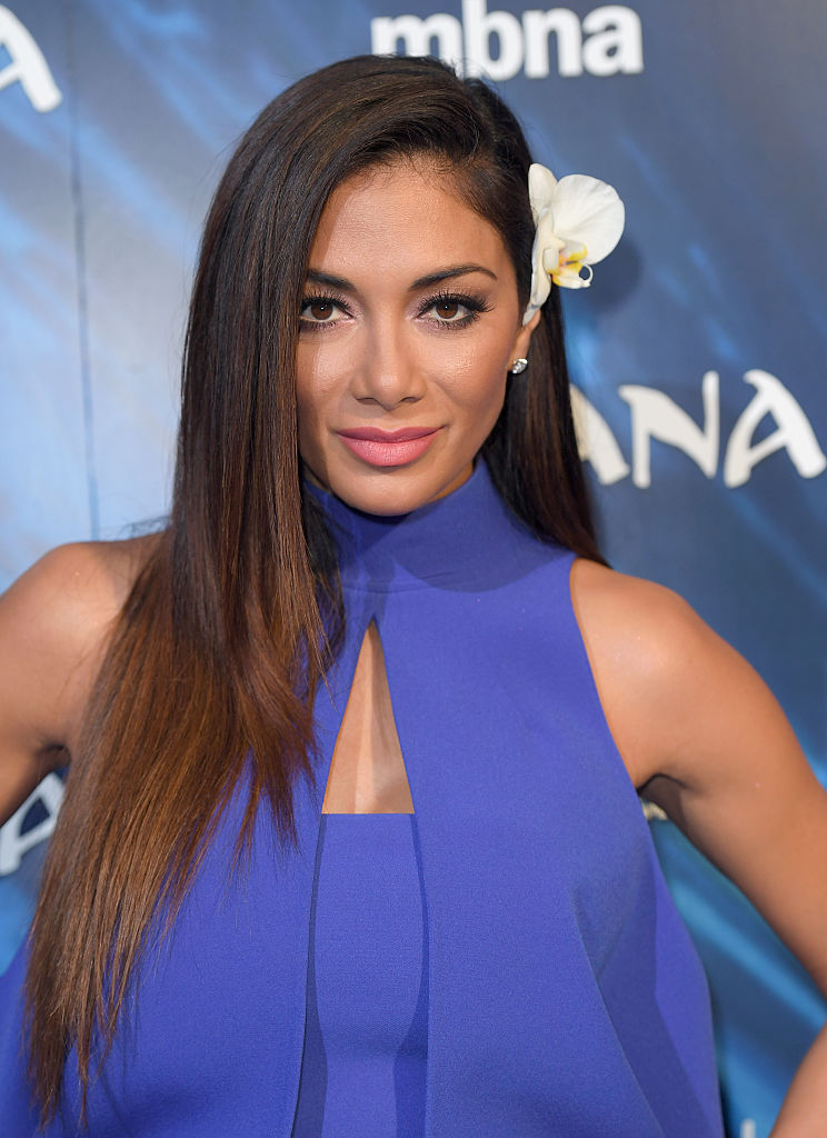 """Nicole Scherzinger rocked an ocean-inspired jumpsuit at the """"Moana"""" premiere and we love it"""